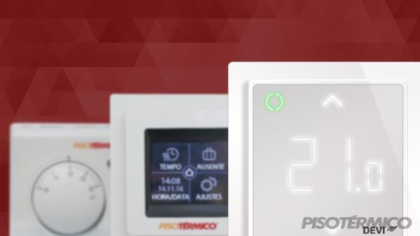 Conheça nossos termostatos e suas possibilidades