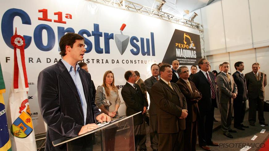 CONSTRUSUL 2008 - Pisos Térmicos e Vitrais Álamo