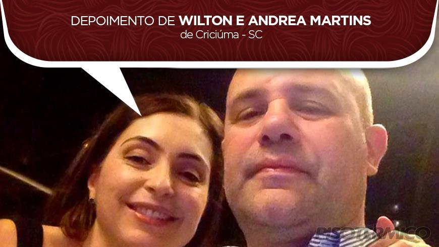 Depoimento de Wilton e Andrea Martins