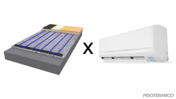 Conheça algumas diferenças entre o aquecimento por  piso aquecido e por ar-condicionado