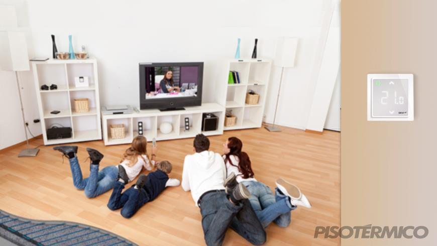 Economize tempo ao automatizar seu piso térmico