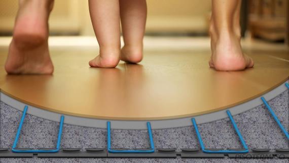 Como é instalado o piso aquecido da Piso Térmico?
