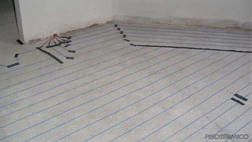 O piso aquecido é um tipo de piso ou um sistema de calefação?
