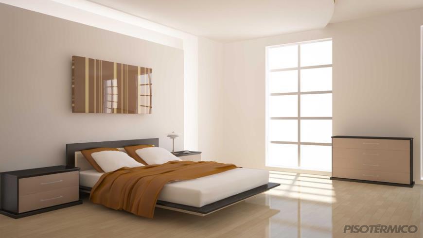 O piso aquecido da Piso Térmico aquece qualquer tipo de piso?