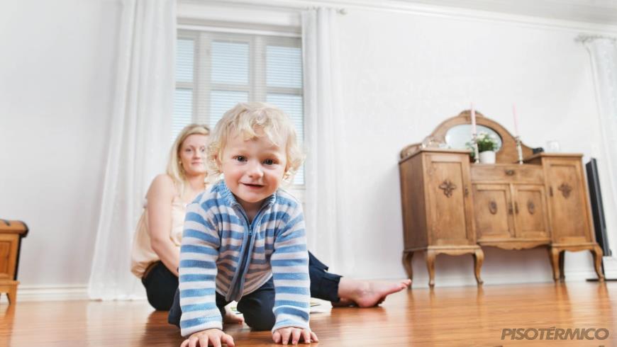 Como o piso aquecido ajuda a proteger o seu mobiliário