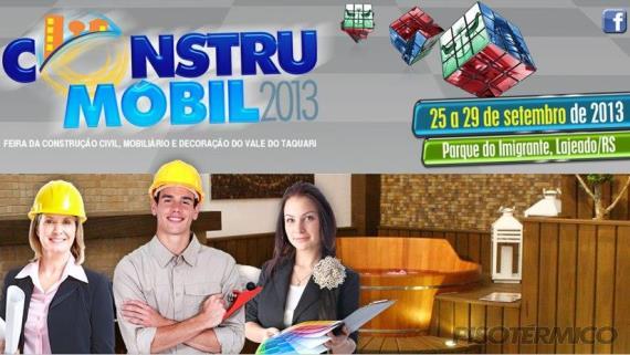 Piso Térmico estará presente na CONSTRUMÓBIL 2013