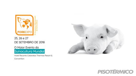 Piso Térmico Suínos marcará presença no PorkExpo 2018