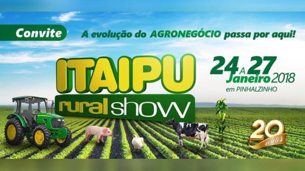 Piso Térmico Suínos participa da 20ª Itaipu Rural Show