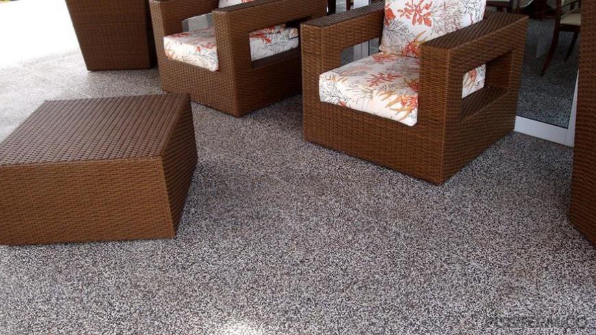 Mas afinal o que o granilite piso t rmico for Tipos pisos para interiores casas