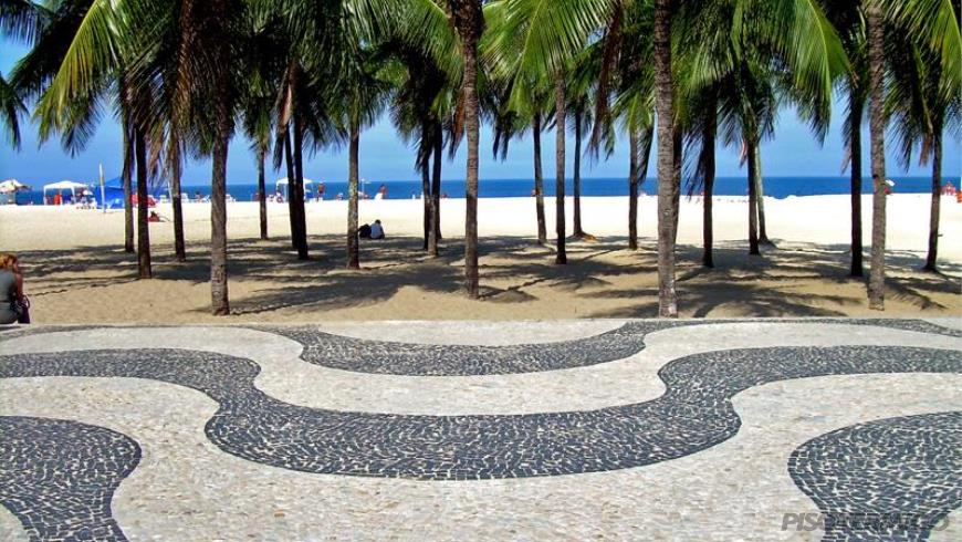 As belas e criativas pavimentações de Pedra Portuguesa