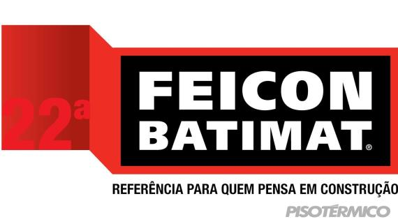 Prestigie a Piso Térmico na 22ª FEICON BATIMAT, em SP