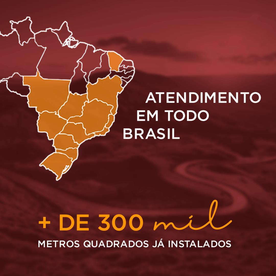 Atendimento da Piso Térmico é em todo o Brasil